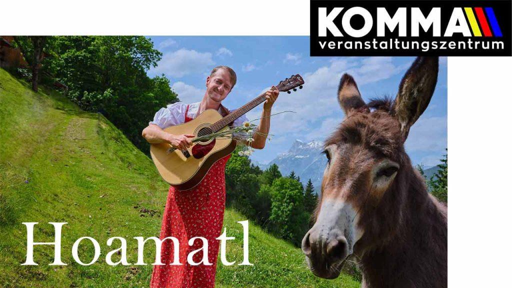 Markus Koschuh - Kabarett - Hoamatl - VZ Komma Wörgl