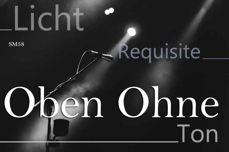 Stagerider, Programm: Oben Ohne. Markus Koschuh